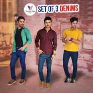 American Indigo Set of 3 Denims (AI2)