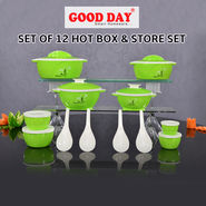 Set of 12 Hot Box & Store Set