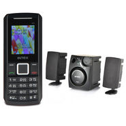Intex Mobile + 2.1 Multimedia Speakers