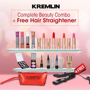Kremlin Complete Beauty Combo + Free Hair Straightener