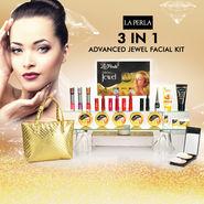La Perla 3 in 1 Advanced Jewel Facial Kit