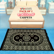 Pack of 2 Traditional Carpets (P2C2)