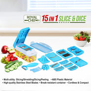 Royal Chef 15 in 1 Slice & Dice