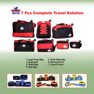 Scottish Club 7 Pcs Complete Travel Solution NT5
