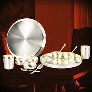 14 Pcs Sterling Silver Plated Set