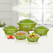 Set of 5 Designer Insulated Casserole