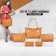 Set of 5 Ladies Handbags