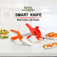 Royal Chef Smart Knife + Multi Cutter with Peeler