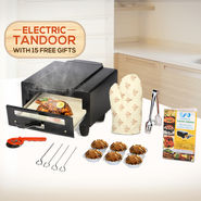 Wellberg Electric Tandoor with 15 Free Gifts