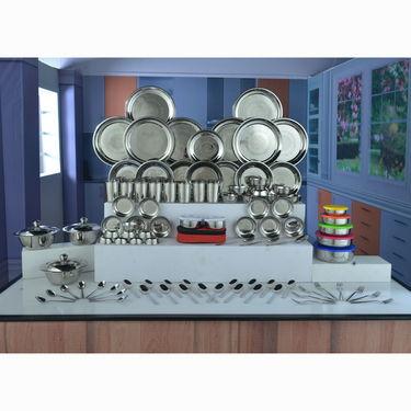 101 Pcs Stainless Steel Dinner Set