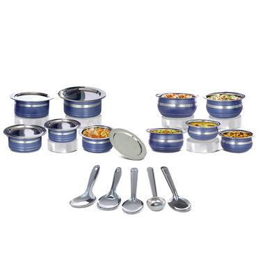 15 Pcs Designer Cook and Serve Set + Free 5 Pcs Kitchen Tool