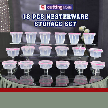 18 Pcs Nesterware Storage Set