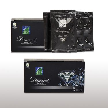 Astaberry Diamond & Silver Facial Kit