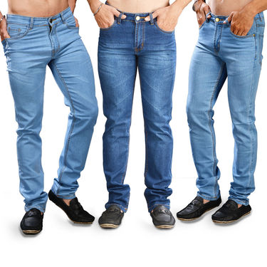 Buy 2 Get 1 Fashion Denims for Men by Mr. Tusker