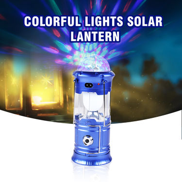 Colorful Lights Solar Lantern