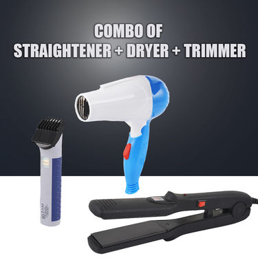Straightener & Dryer Styling Kit + Trimmer