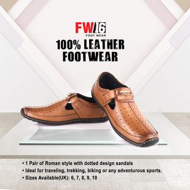 FW16 100% Leather Footwear