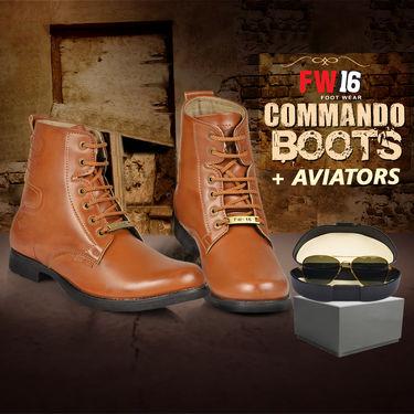 FW16 Commando Boots + Aviators