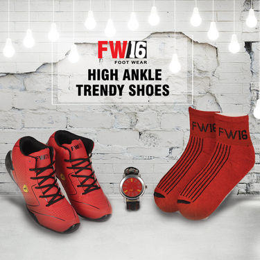 FW16 High Ankle Trendy Shoes C (HASCN)