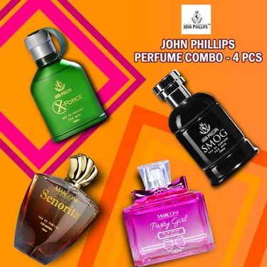 John Phillips Perfume Combo - 4 Pcs