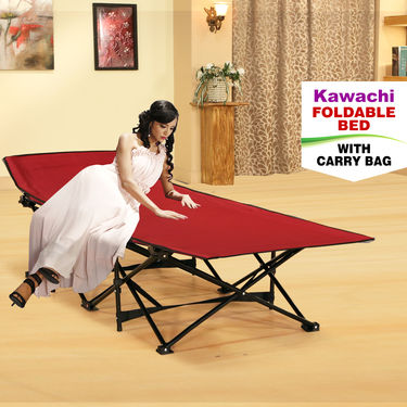 Kawachi Foldable Bed with Carry Bag