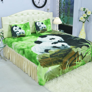 Pack of 4 Nature Collection Ultra 3D Bedsheets (4DBS5)