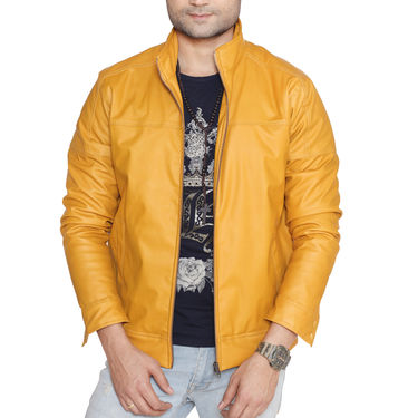 Pick Any One Leatherite Jacket for Men by American Indigo