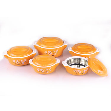 Set of 5 Designer Insulated Hot Box