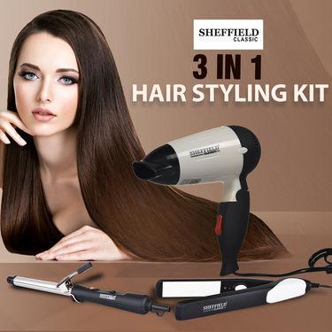 Sheffield 3 in 1 Hair Styling Kit